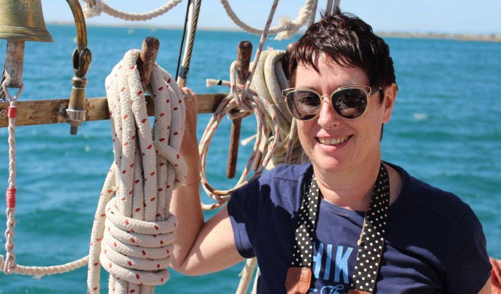 Sylvie Clergerie 55 ans blogueuse voyage et entrepreneure est sur 50 ans d'âge et plus le podcast