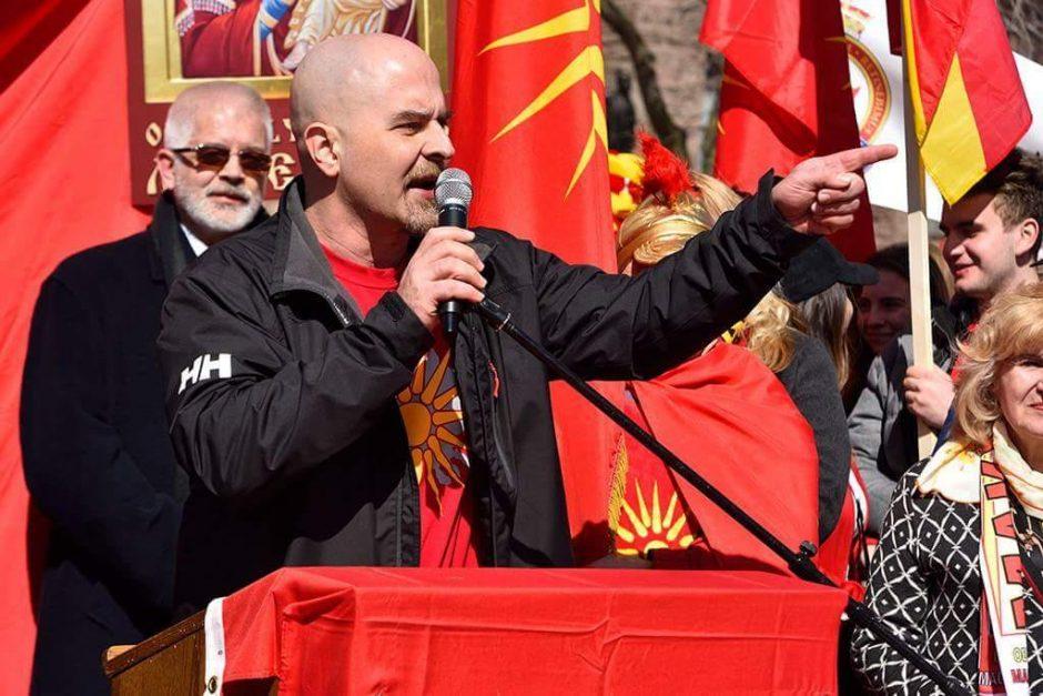 Сателитскиот патриотизам на канаѓанецов Бил николов пуштен на најјако: Македонија е под американска окупација