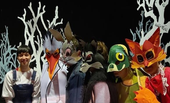 """Премиера на детската претстава """"Приказни за ветрот и месечината"""" во Прилепскиот театар"""