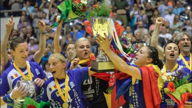 SCM CRAIOVA A CÂȘTIGAT CUPA EHF