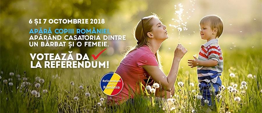 DIASPORA VOTEAZĂ – VOT 2018 REFERENDUM – ULTIMELE ANUNȚURI, ȘTIRI ȘI ARTICOLE despre Referendumul pentru Familie