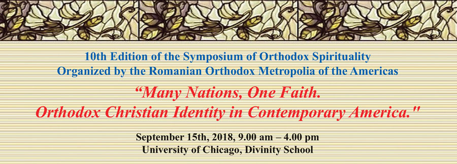 "Symposium ""Many Nations, One Faith. Orthodox Christian Identity in Contemporary America."" – at University of Chicago"