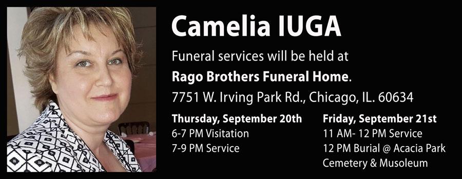 IN MEMORIAM: Camelia IUGA – Serviciile funerare