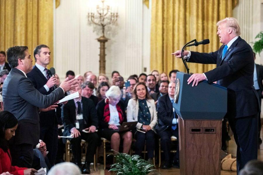 Jim Acosta a încălcat una dintre cele mai vechi reguli ale jurnalismului