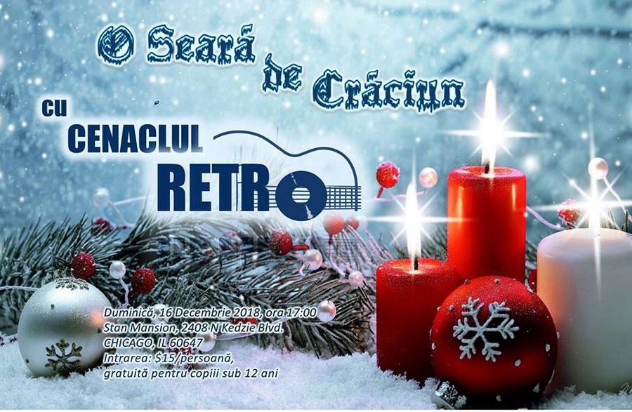 O Seară de Crăciun – cu Cenaclul RETRO