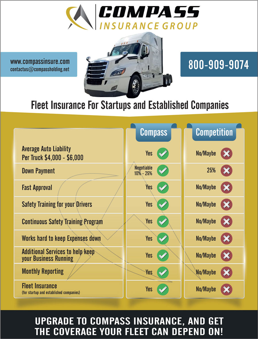 COMPASS Insurance Group (for semi trucks)
