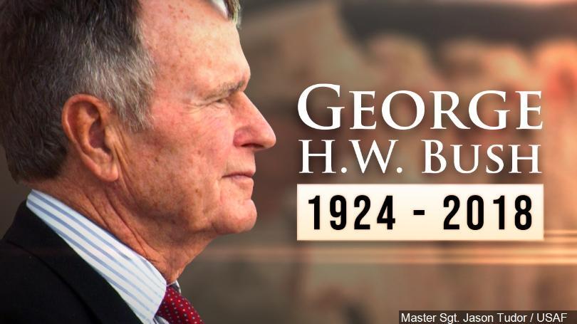 5 decembrie, zi de doliu național în memoria lui George H. W. Bush