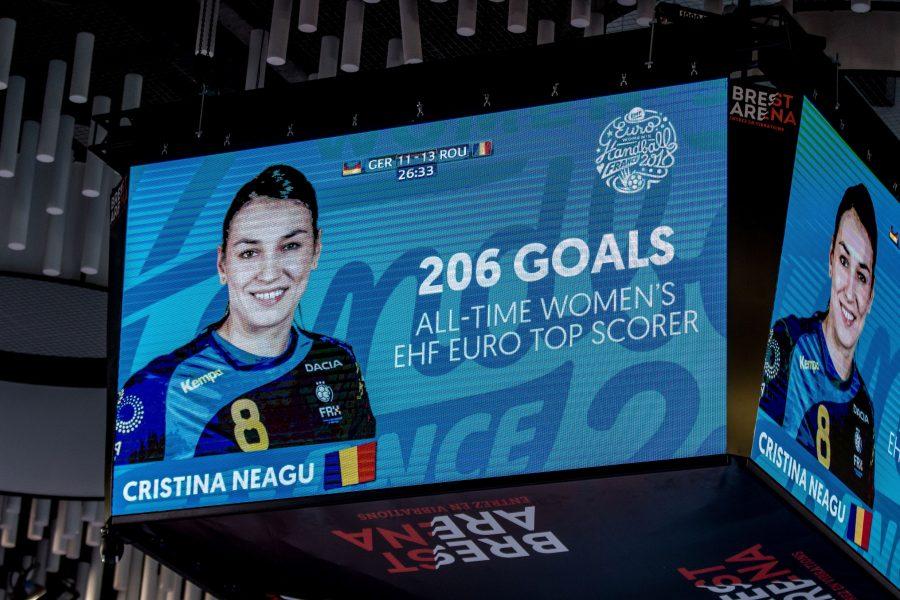Handbal: Cristina Neagu a devenit cea mai bună marcatoare all-time la Campionatele Europene