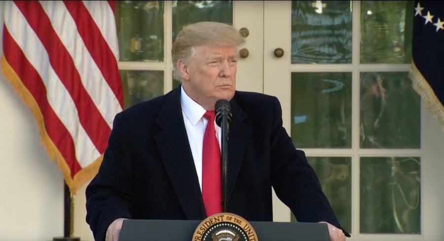 Donald Trump anunţă un acord temporar care va pune capăt blocajului administraţiei federale