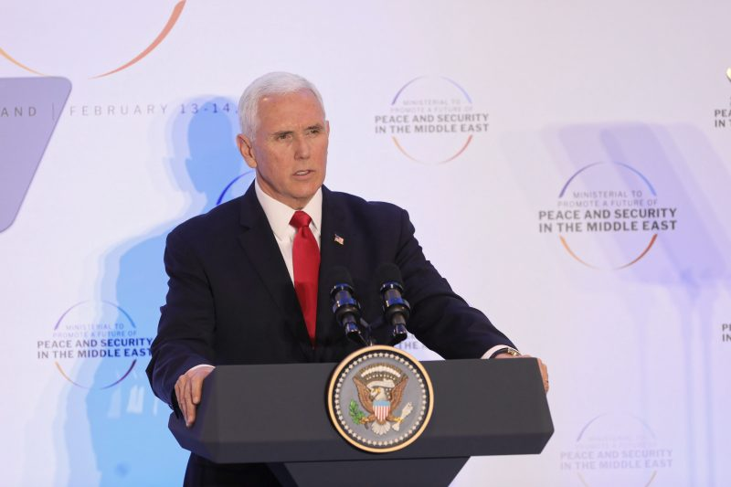Vicepreşedintele american Pence şi secretarul de stat Pompeo cer UE să se retragă din acordul nuclear cu Iranul