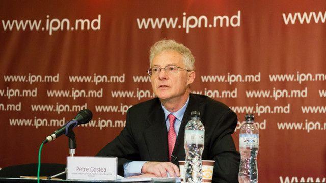 Candidatul român la europarlamentare, Petre Costea, a lansat o carte la Chişinău