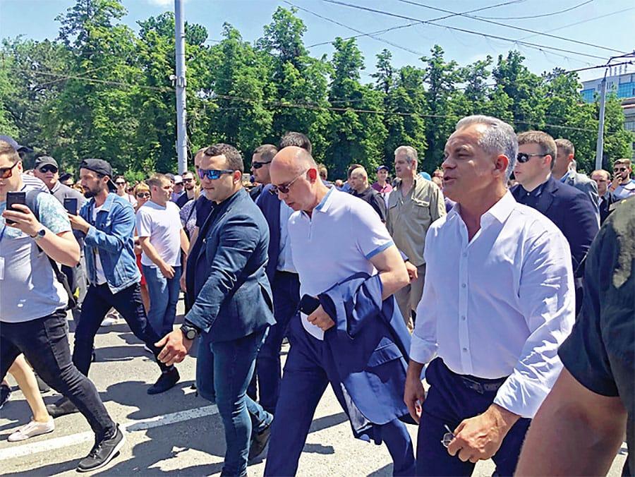 Vlad Plahotniuc și-a dat demisia de la conducerea Partidului Democrat