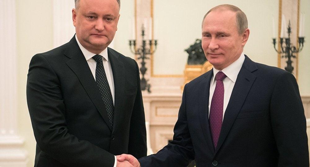 """Plahotniuc l-a enervat pe Putin: """"Puterea în RM a fost uzurpată de oligarhi. Îl vom susține pe Igor Dodon și partenerii săi"""" – declară președintele rus."""