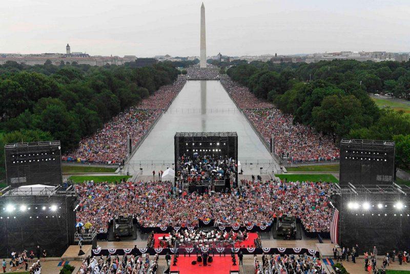 Trump salută excepționalismul american cu ocazia Zilei Independenței