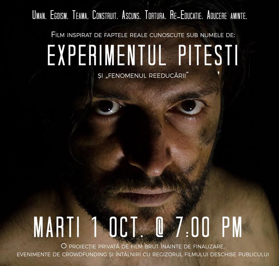"""Filmul """"Experimentul Pitești"""" prezentat încă o dată la Chicago"""