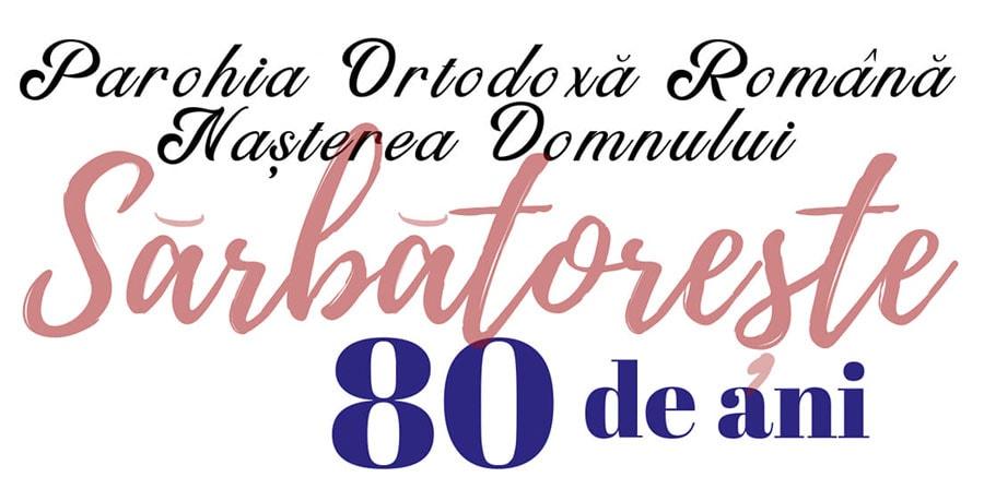"""Parohia Ortodoxă Română """"Nașterea Domnului"""" din Chicago celebrează 80 de ani"""