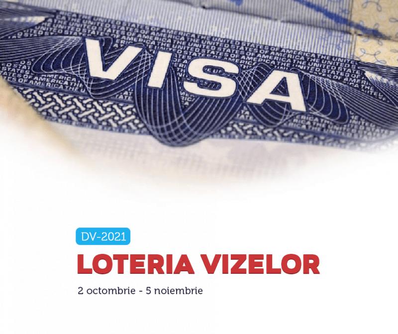 Ambasada SUA: Încep înscrierile pentru Loteria Vizelor 2021