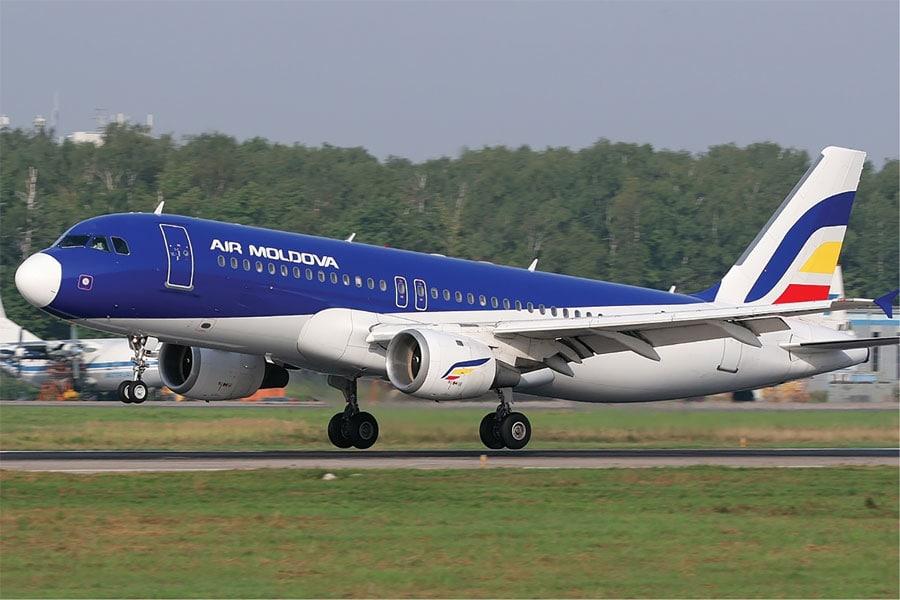Sechestru de peste un miliard de lei pe avioanele Air Moldova