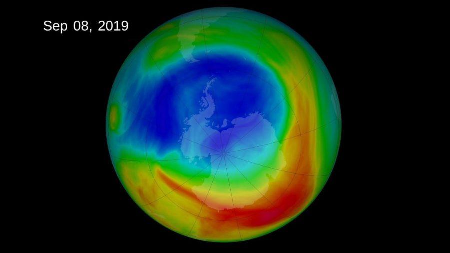 NASA: Gaura din stratul de ozon se micșorează vizibil