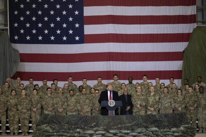 Thanksgiving: Vizită supriză a lui Donald Trump în Afganistan