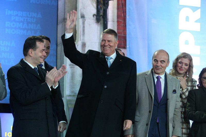 Breaking: Klaus Werner Iohannis obține un nou mandat de președinte al României
