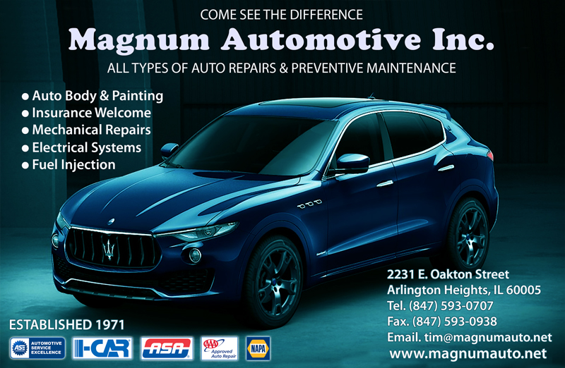 Magnum Automotive Inc. – ALL TYPES OF AUTO REPAIRS & PREVENTIVE MAINTENANCE
