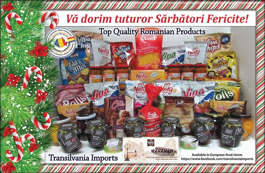 Transilvania Imports: SĂRBĂTORI FERICITE!