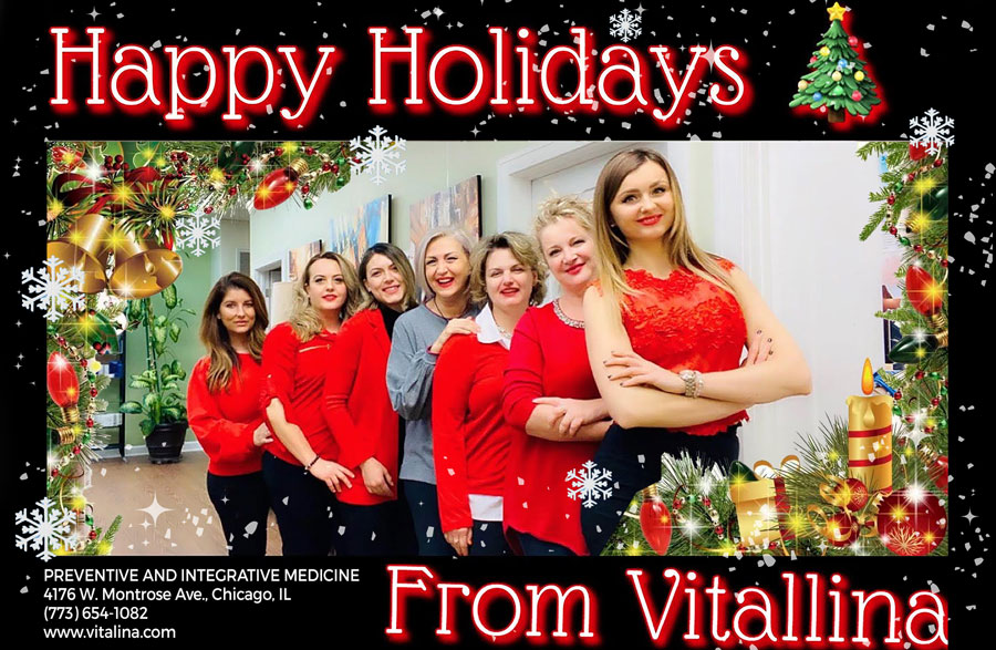 VITALLINA: Happy Holidays!