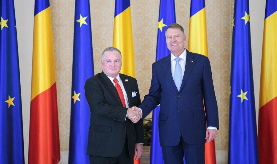 Noul Ambasador al SUA, Adrian Zuckerman, acreditat la București