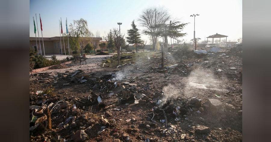 Iranul refuză să predea cutia neagră a avionului ucrainean prăbușit companiei Boeing