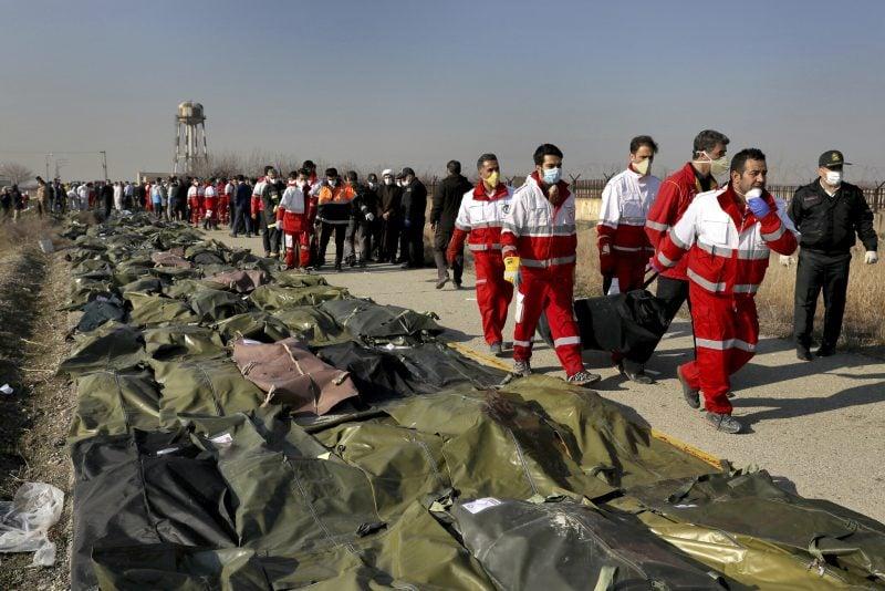 """Iranul recunoaște că a doborât avionul ucrainean din cauza unei """"erori umane"""""""