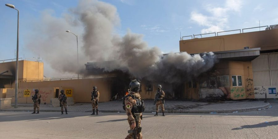 Ambasada SUA din Irak a fost atacată cu rachete Katiuşa