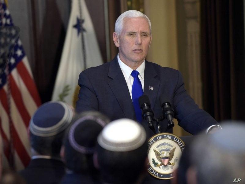 Mike Pence: Lumea trebuie să rămână unită împotriva negării Holocaustului şi împotriva Iranului