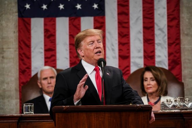 """Donald Trump, în Congresul SUA: """"Spre deosebire de predecesorii mei, eu îmi respect promisiunile"""""""