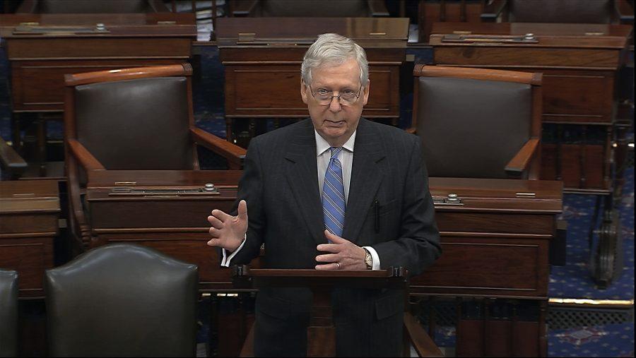 Republicanii din Senatul SUA au prezentat un plan de ajutorare de 1.000 de miliarde de dolari