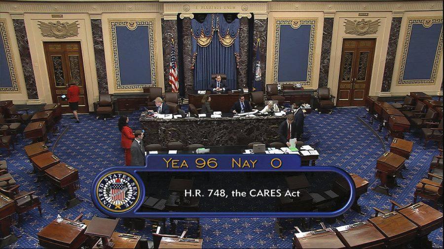 Coronavirus: Acord între Senatul SUA şi Casa Albă privind un plan de relansare de 2.000 miliarde de dolari