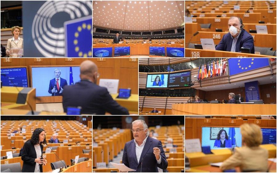 Relevanța Parlamentului European în contextul pandemiei