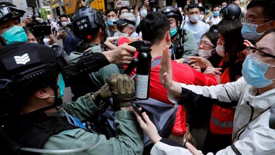 USA avertizează China în privinţa adoptării unei legi referitoare la securitatea Hong Kong-ului