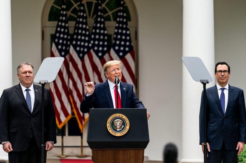 BREAKING: Trump retrage SUA din Organizația Mondială a Sănătății pe fondul scandalului de coronavirus