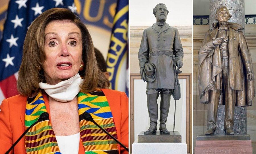 Pelosi cere înlăturarea statuilor Confederate, dar ignoră că tatăl ei a dedicat una ca primar