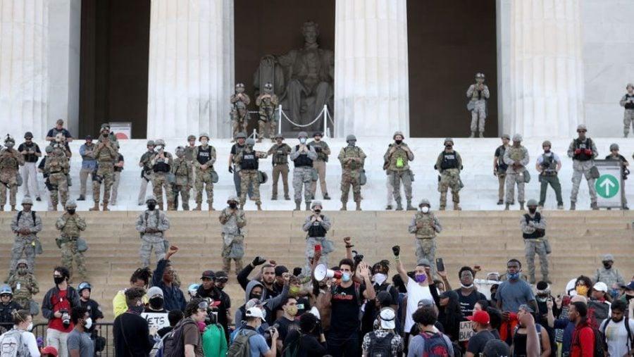Garda Națională, desfășurată pentru protejarea monumentelor din Washington D.C.