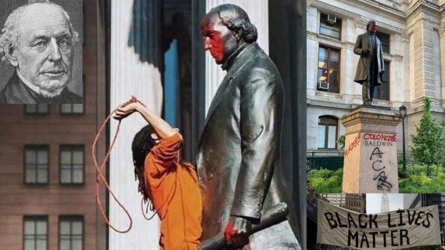 Philadelphia: Statuia aboliționistului care a susținut drepturile persoanelor de culoare a fost vandalizată de anarhiști
