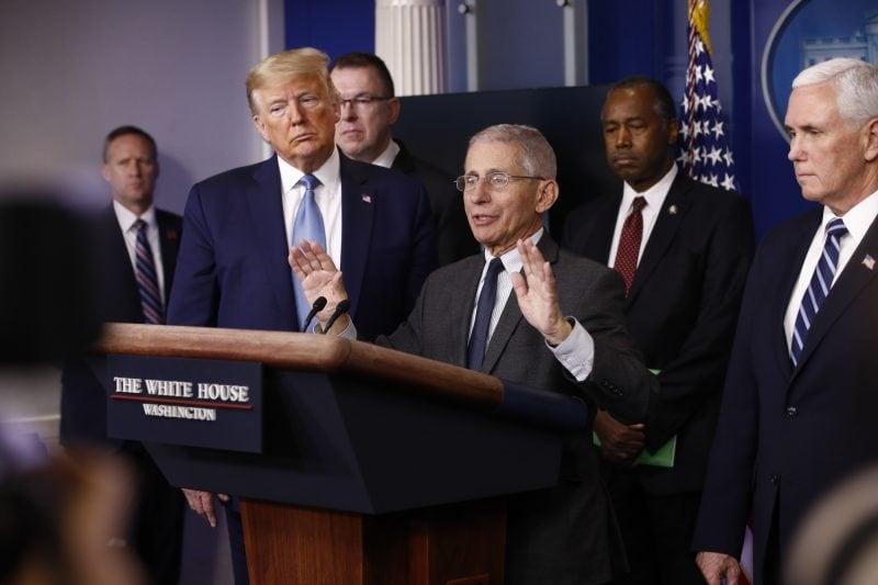 Dr. Fauci spune că Donald Trump n-a denaturat impactul pandemiei