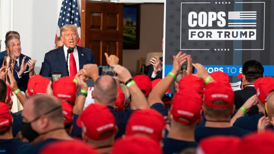Alegeri 2020: Sindicatul poliției din Chicago îl susține pe Donald Trump