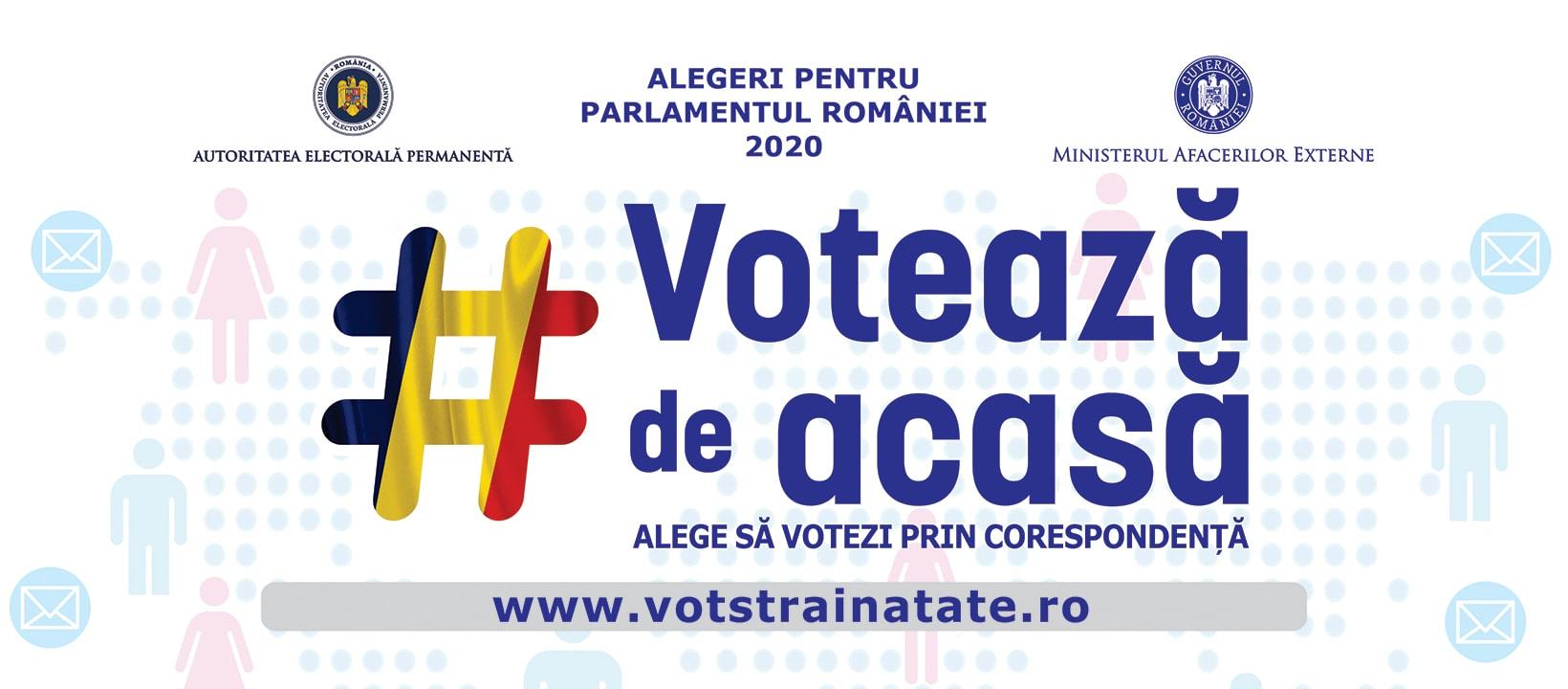 COMUNICAT: Consulatul General al României din Chicago anunță noi proceduri pentru alegerile Parlamentare din 5-6 decembrie 2020