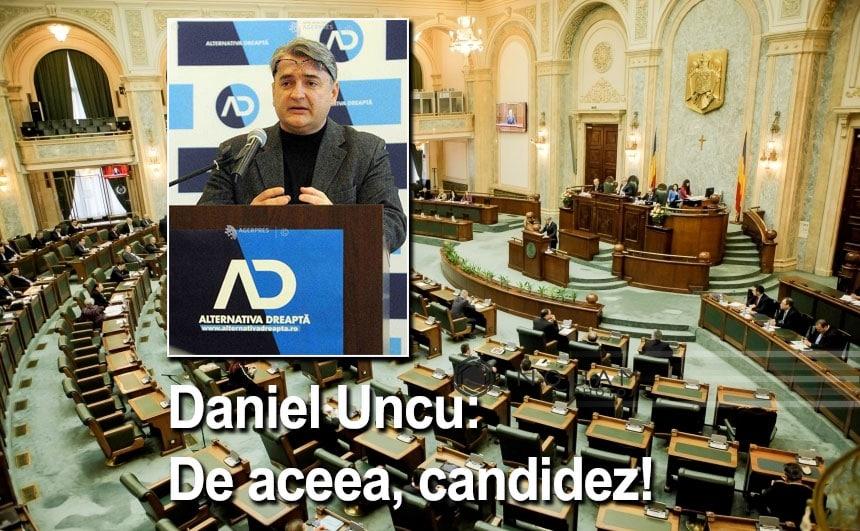 Daniel Uncu: De aceea, candidez!