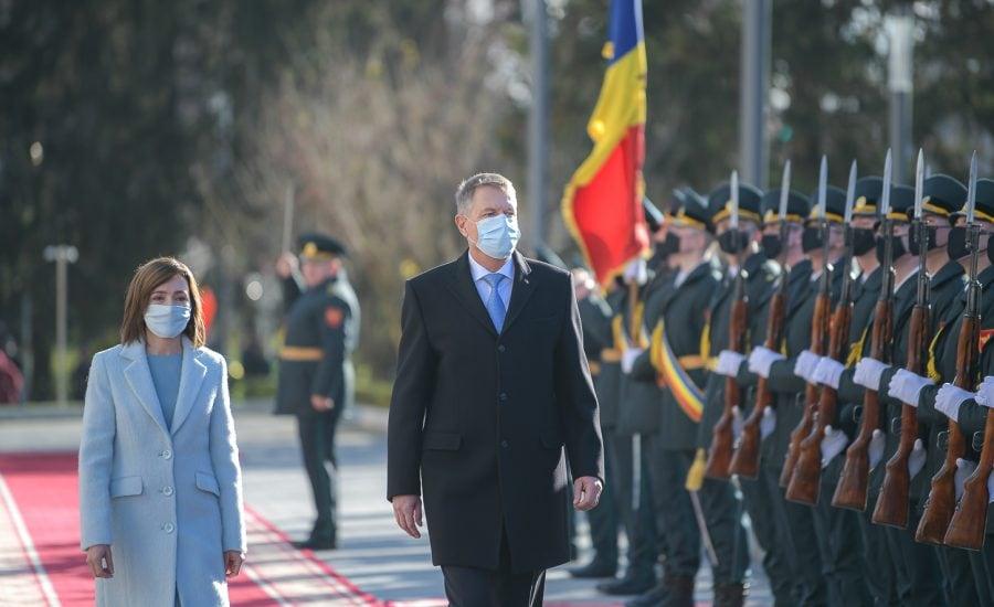 Preşedintele Klaus Iohannis a efectuat o vizită oficială la Chişinău