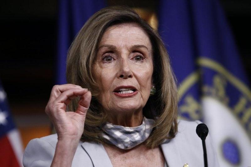 "DHS respinge cererea lui Nancy Pelosi pentru ""militari cu mitraliere la Washington"""