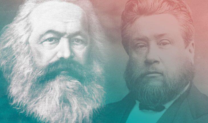 Lupta epică pentru suflete a lui Karl Marx și Charles Spurgeon