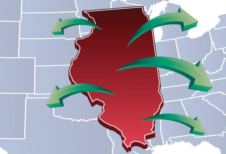 Illinois se micșorează: 87 din 102 districte au pierdut populație în deceniul trecut